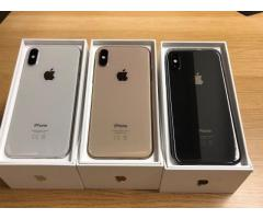Apple iPhone XS €400 iPhone XS Max €430